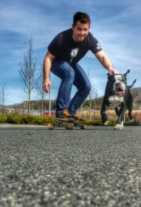 Longboard Bulldogen Antrieb