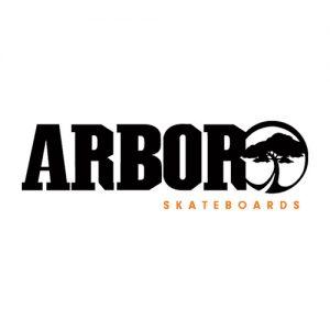 Das Logo der Arbor Longboard Collective