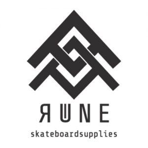 Das Logo der Longboard Marke Rune