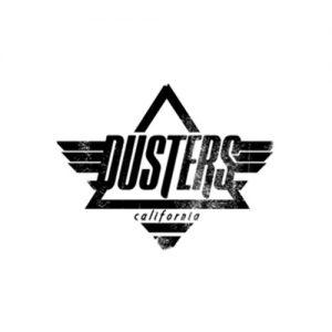 Das Logo der Longboardmarke Dusters