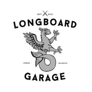 Das Logo der Longboard Garage aus Bayern