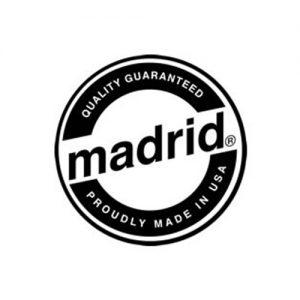 Das Logo der Longboard Marke Madrid