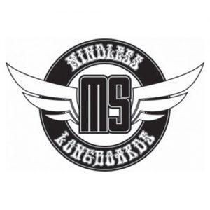 Das Logo der Longboar Marke Mindless Longboard