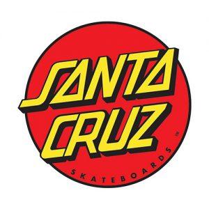 Das Logo von Santa Cruz Longboard