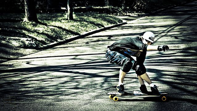 Longboard Fahrstil Downhill / Freeride