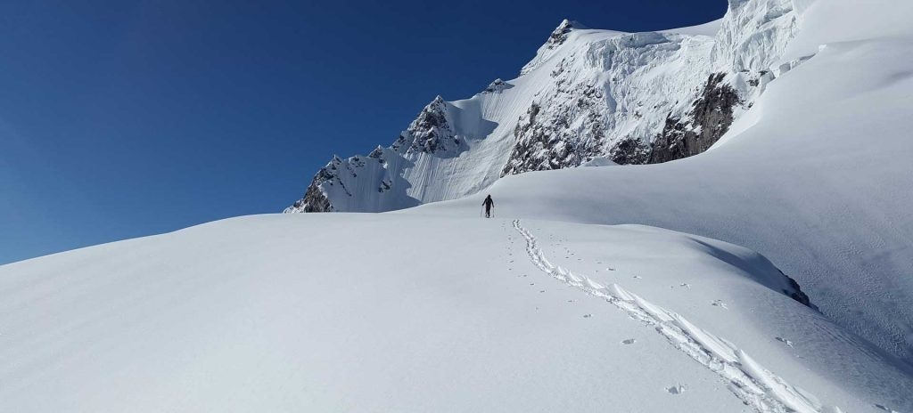 Spiltboards Tourengehen mit dem Snowboard