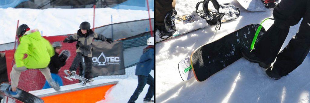 Snowskate – der neueste Wintersport-Trend im Porträt.