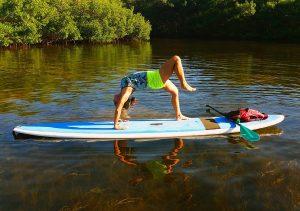 Sup Yoga aufgenommen von SURFit
