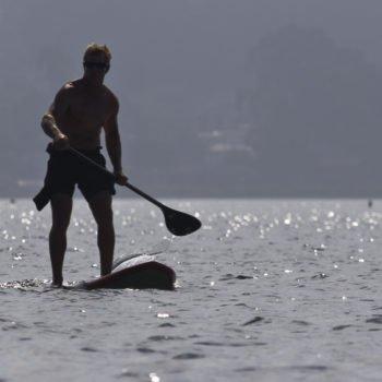 NSP Stand Up Paddle auf dem Wasser
