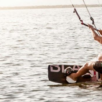 Kiteboarder Freeride mode