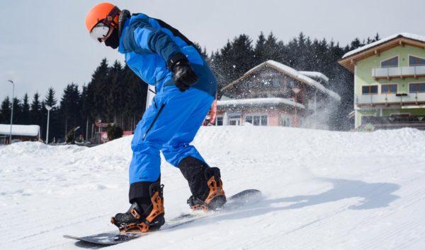 Der erste Meter auf dem Snowboard